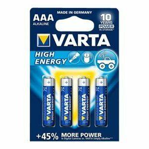 4 Piles Alcalines AA / LR6 Varta LongLife Power