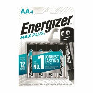 4 Piles Alcalines AA / LR6 Energizer Max Plus