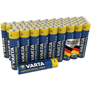 40 Piles Alcalines AA / LR6 Varta Industrial