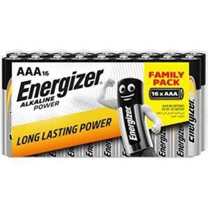 16 Piles AA / LR6 Energizer Alcaline Power